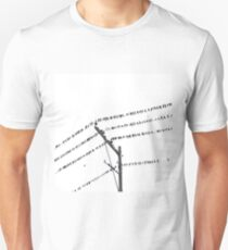 Birds On Electric Wire T-Shirt
