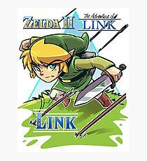 Zelda 2 The Adventure Of Link Photographic Print