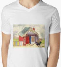 The Mouse's Bookshop Men's V-Neck T-Shirt