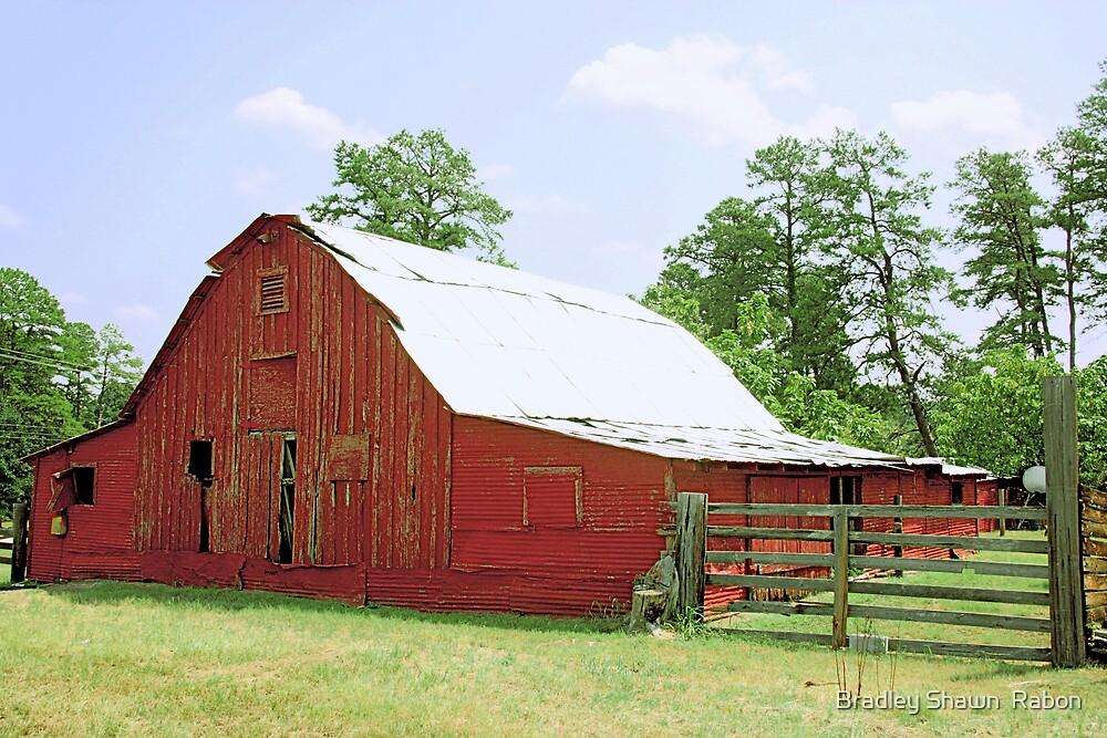 """""""BIg Red Barn"""" by Bradley Shawn  Rabon"""