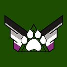 United Family of Pup Play: Asexual Pride by NerdyDoggo