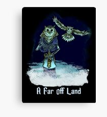 Ankou from A Far Off Land - Art by Gennifer Bone Canvas Print