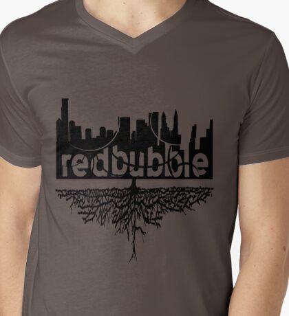 From Skyscrapers to Grassroots : Black Version T-Shirt