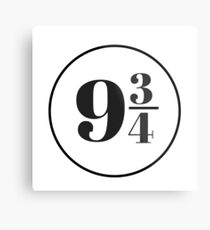 Platform Nine and Three Quarters Metal Print