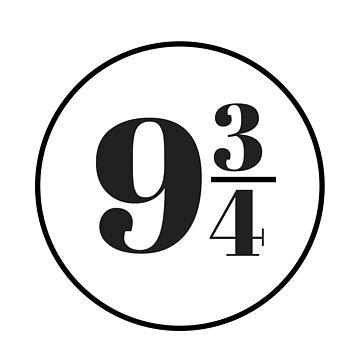 Platform Nine and Three Quarters by annmariestowe