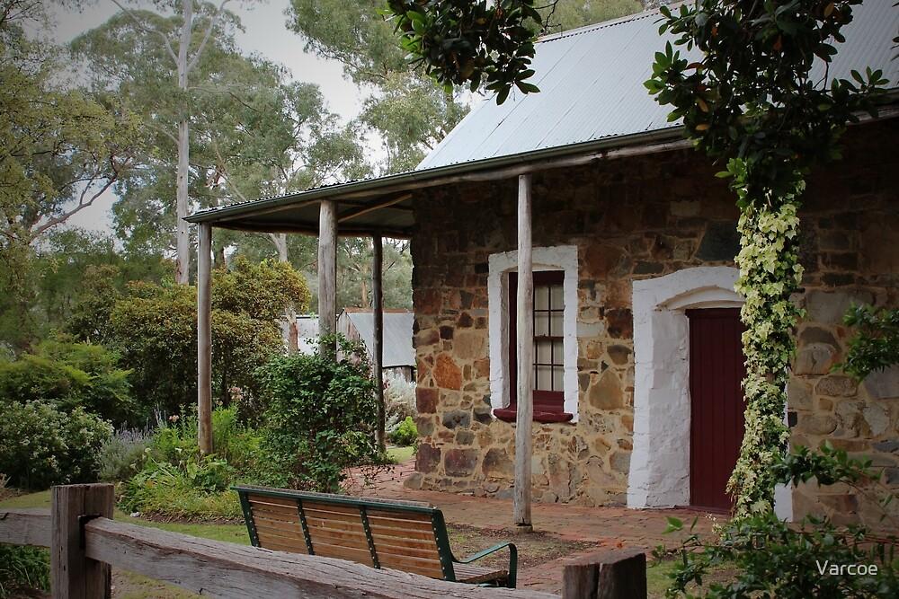 Pioneers Cottage. by Jeanette Varcoe.
