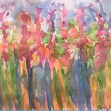 Flower Frenzy  by Dottiepvisker