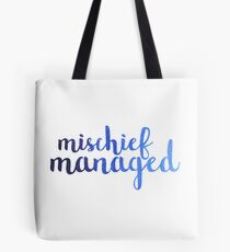Ombre Mischief Managed Tote Bag