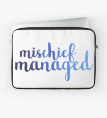 Ombre Mischief Managed Laptop Sleeve