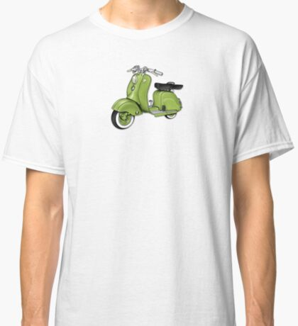 Scooter T-shirts Art: LD 150 - 1955 vintage scooter illustration Classic T-Shirt