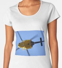 Rescue Helicopter 1 Women's Premium T-Shirt