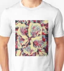 Multi colored Hibiscus T-Shirt