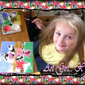 Art Girl 1 by Morgan5