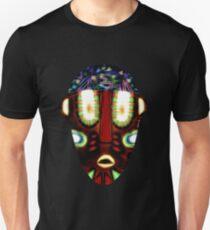 mascara africana colorida T-Shirt