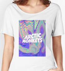 Arctic Monkeys Holographic Women's Relaxed Fit T-Shirt