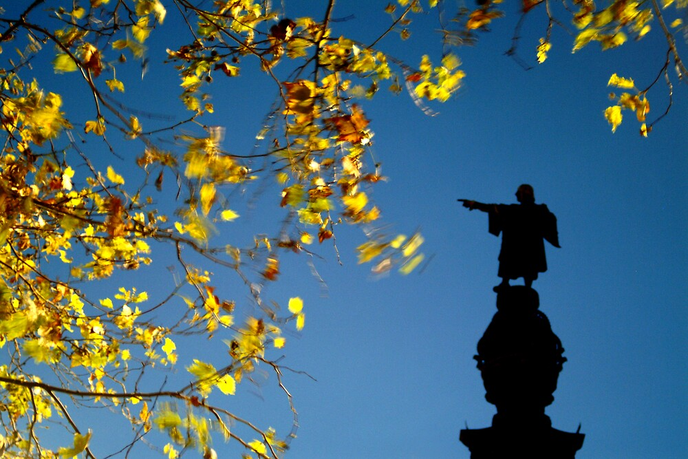 Colombus Monument, Barcelona, Spain by NiamhPhoto