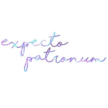 Neon Expecto Patronum by annmariestowe