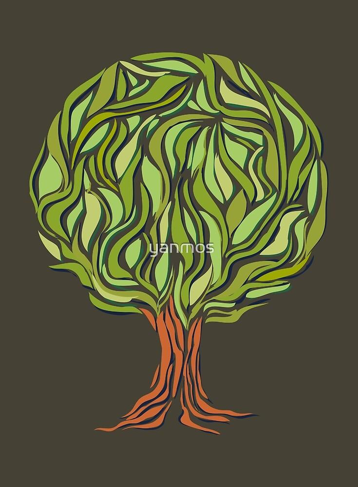 Illusion  tree by yanmos