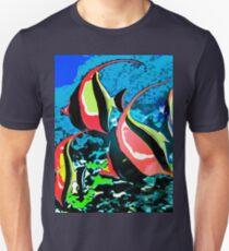 Hawaiian Kihikihi Fish T-Shirt