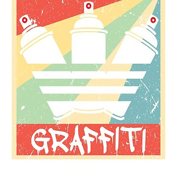 Graffiti Red Nozzle Vintage  by prosperousjewel