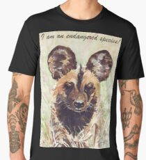 I am an endangered species! Men's Premium T-Shirt