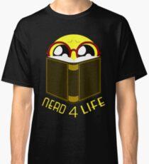 Emoji Shirts Geek T Shirt Nerd 4 Life Smiley Tee Classic T-Shirt