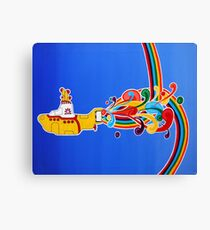 beatles: yellow submarine Canvas Print
