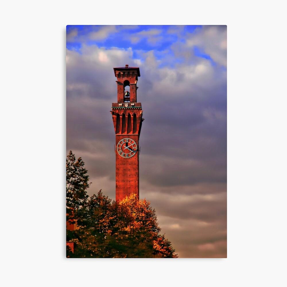 Uhrturm - Waterbury, Connecticut Leinwanddruck