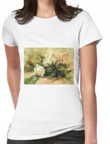 Debbie's Garden Womens Fitted T-Shirt