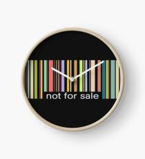 not for sale Clock
