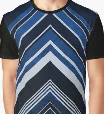 Geometric Geode - Sapphire Graphic T-Shirt