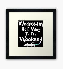 Wednesday Framed Print