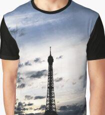 Eiffel Tower sunset Graphic T-Shirt