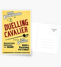 """Singin' in the Rain - """"The Duelling Cavalier"""" (Revisited) Postcards"""
