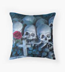 Fontanel cemetery Throw Pillow