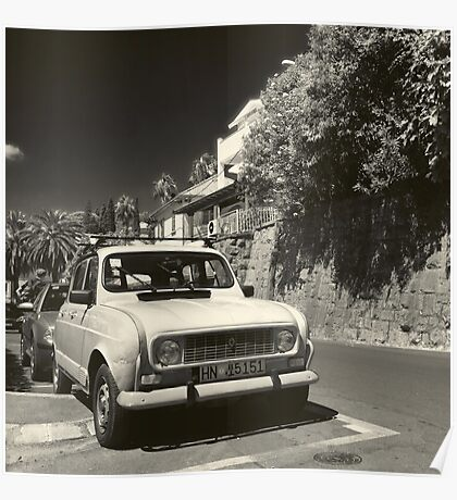 Old Renault Poster