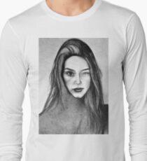 I Am Machine, 2017, 50-70cm, graphite crayon on paper T-Shirt