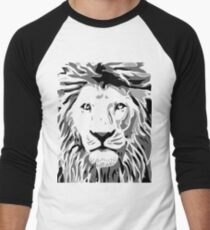 Lovely Lion Stencil (Greyscale) T-Shirt