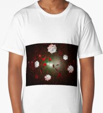 Red White Blood Cells Long T-Shirt