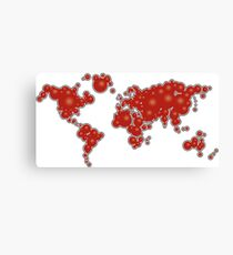 redbubble world Canvas Print