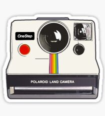 Polaroid camera sticker Sticker