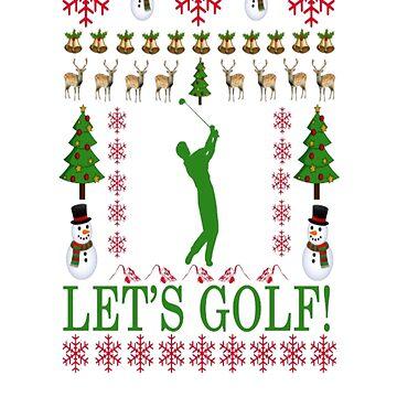 golf_ugly_christmas_sweater_ by Felixsc