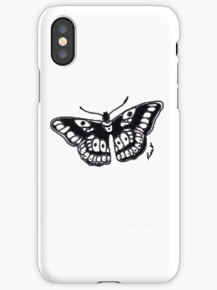 Butterfly Tattoo by PurpleGlitterXx