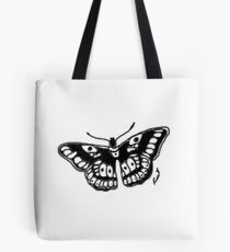 Butterfly Tattoo Tote Bag