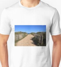 Chestnut Fence To The Beach T-Shirt