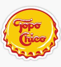 Topo Chico Tshirt sticker Sticker