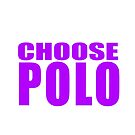Choose Polo - Starfish and Coffee Purple by Bill Chant