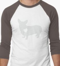 Adore Corgis Men's Baseball ¾ T-Shirt