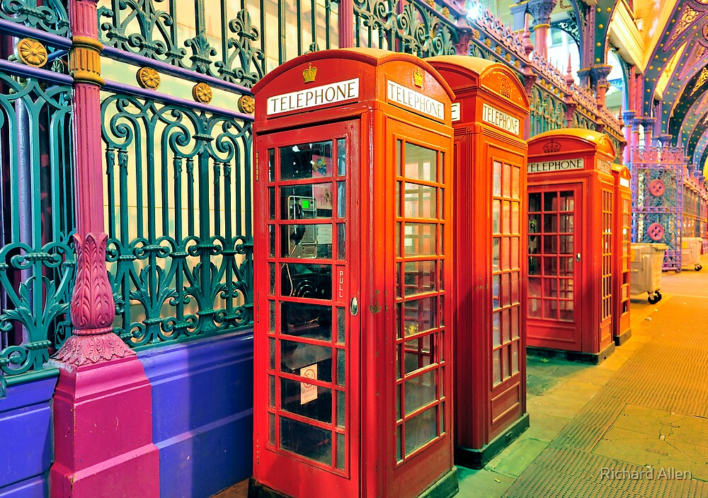 Telephone Boxes by Lea Valley Photographic