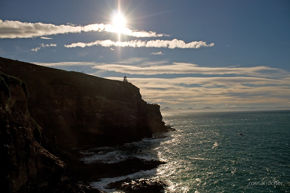 Lighthouse on the edge by rossandcher